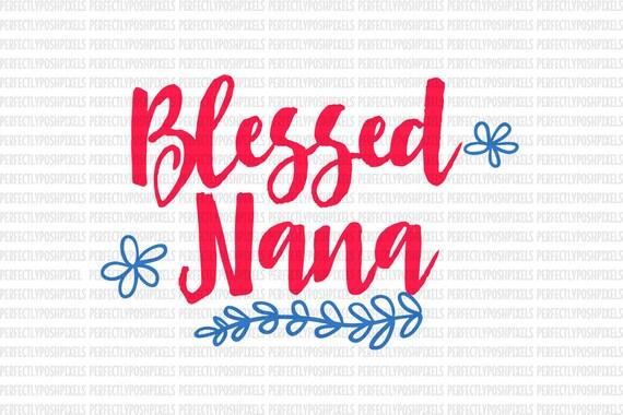 Download Blessed Nana SVG Clip Art Cut Files Valentine Arrow Love Arrow