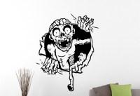 Zombie Wall Sticker Vinyl Decal Home Interior Design Art