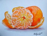 Tangerine Painting Mandarin Painting Orange by ...