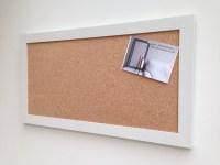 Large Cork Board. Large bulletin board Large pin board Cork