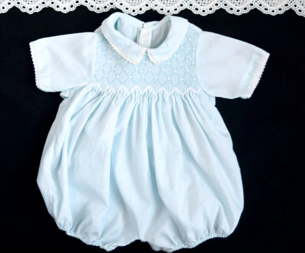 Vintage Baby Boy Clothes Feltman Bros Heirloom Romper
