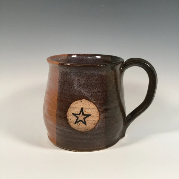 Pottery Mug Ceramic Coffee Cup 16 oz Ready to by FattyFrogPots