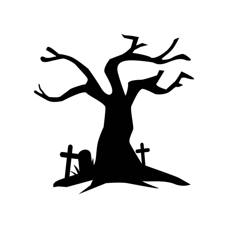 Halloween Cut Tree Cut Spooky Halloween Haunted