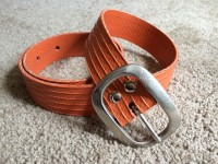 Items similar to Recycled fire hose belt S on Etsy