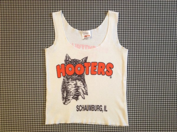 1990' Cropped Schaumburg Il Hooters Tank Top