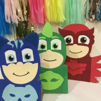 Pj masks party pj mask party decoration pj masks treat bags