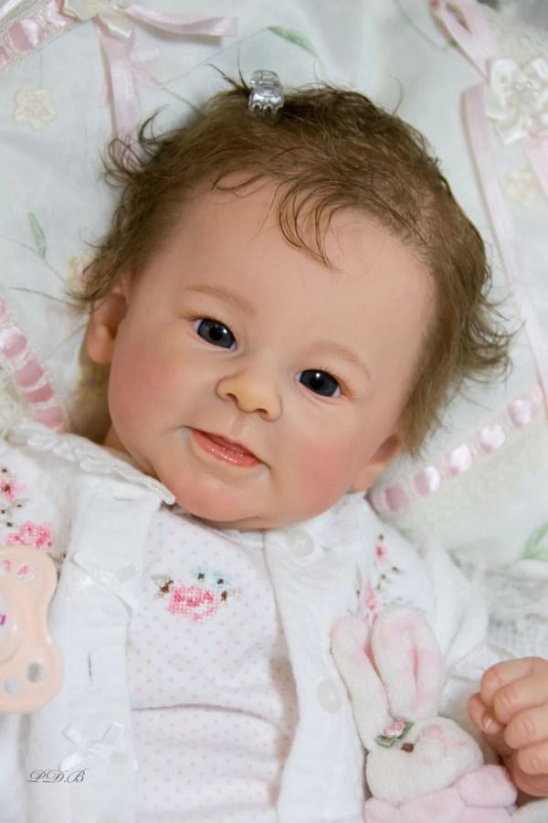 Custom Order Reborn Doll Baby Girl Greta Andrea Arcello