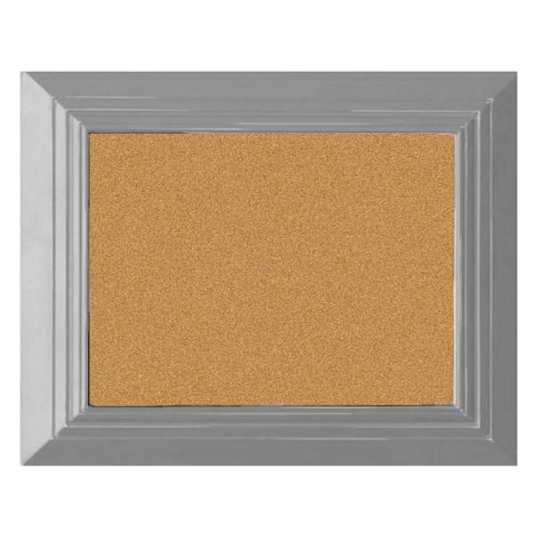 bulletin board-pin board-large cork board gray cork board