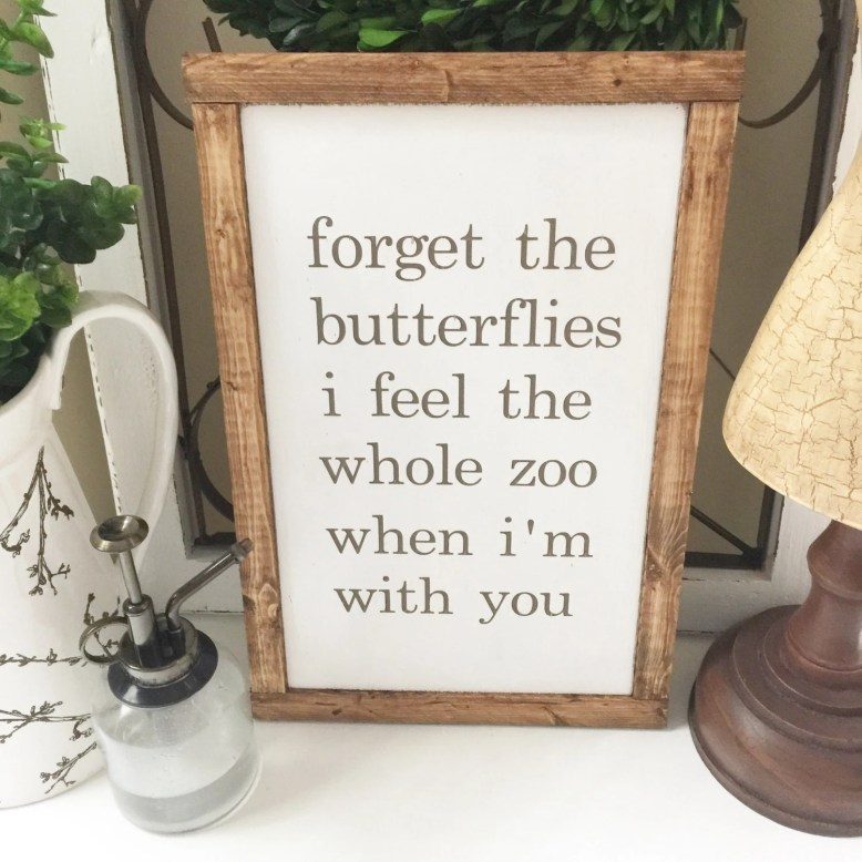 Forget the butterflies cu...
