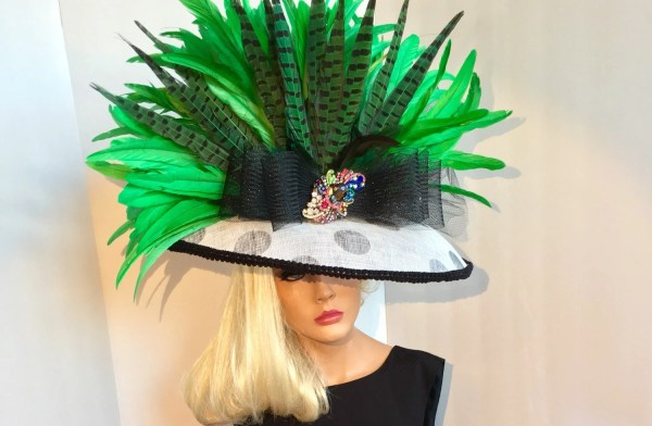 Big Green Kentucky Derby Hat