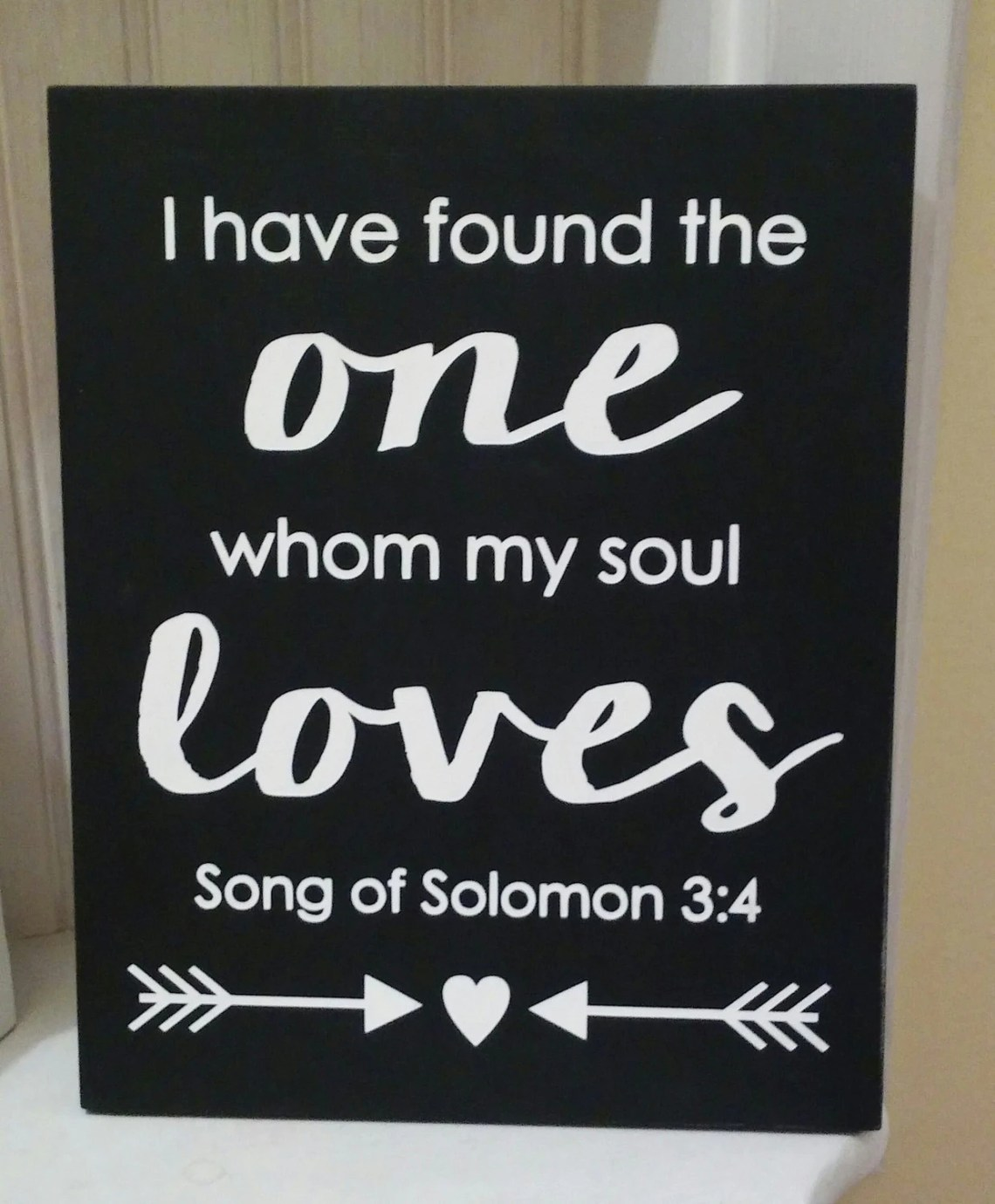 Download I Have Found the One Whom My Soul Loves Sign Wedding Sign