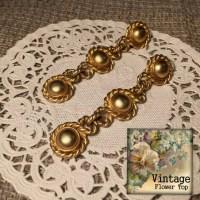 Erwin Pearl earrings Designer Vintage Erwin Pearl dangle clip
