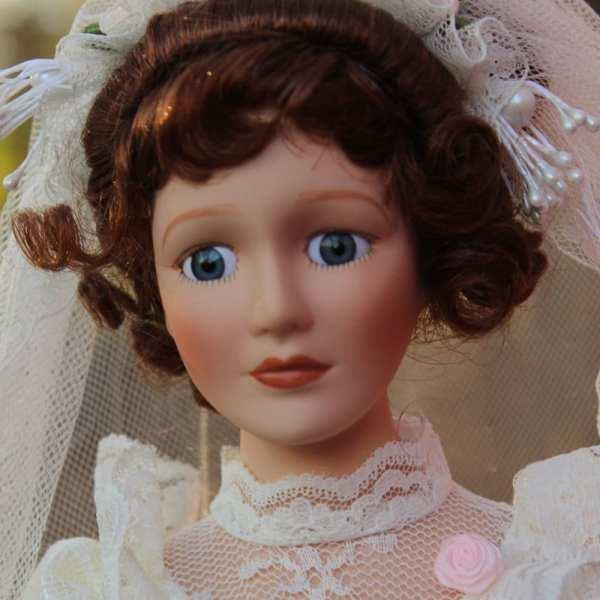 80' Porcelain Doll Bride Wedding Genesisvintageshop
