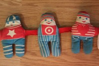 Crib toy-Johnson and Johnson-Vintage toddler toys-Boys