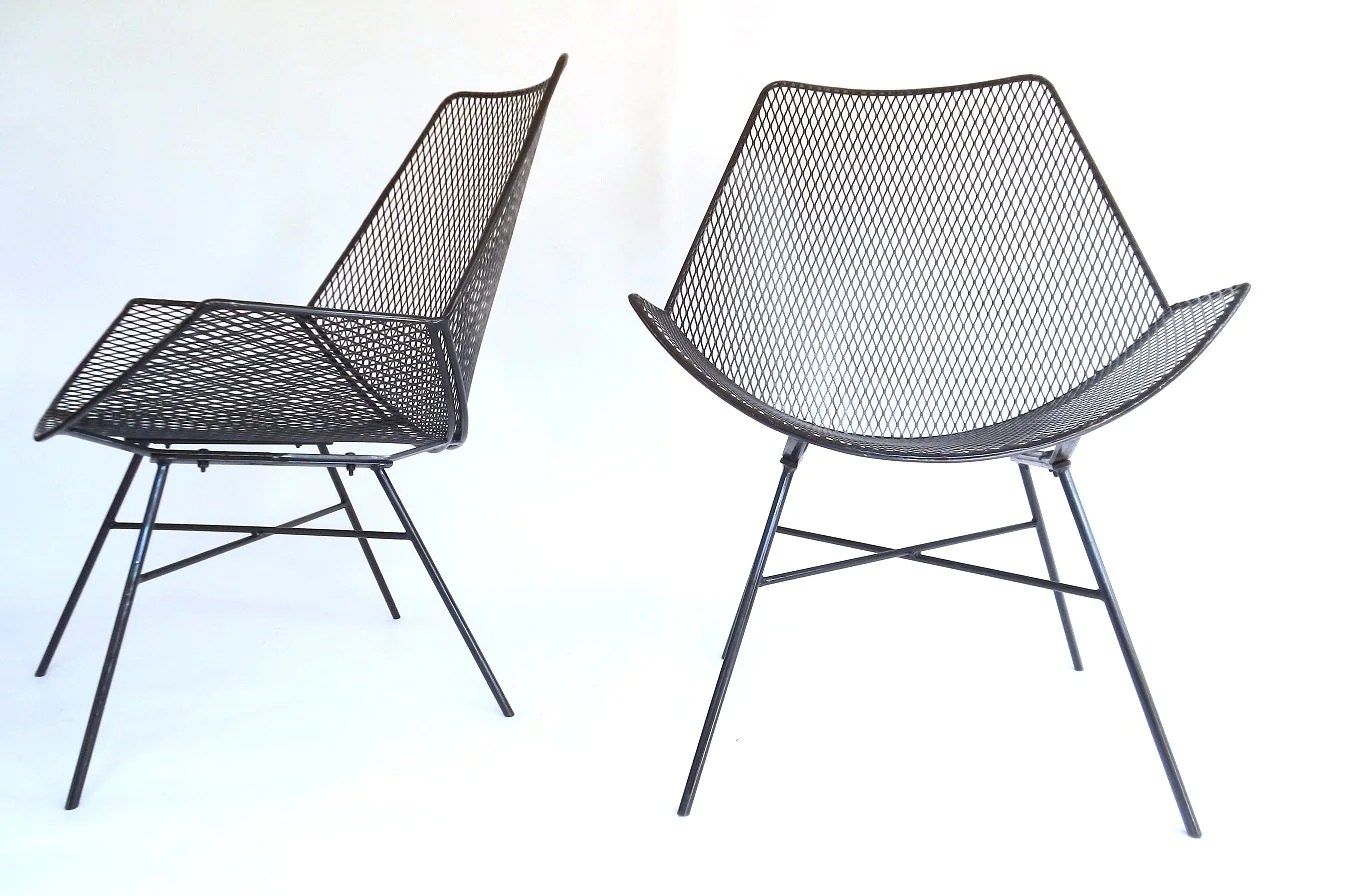 Garden Chair Modernist Wire Metal Patio Chairs Outdoor Patio Garden Chair