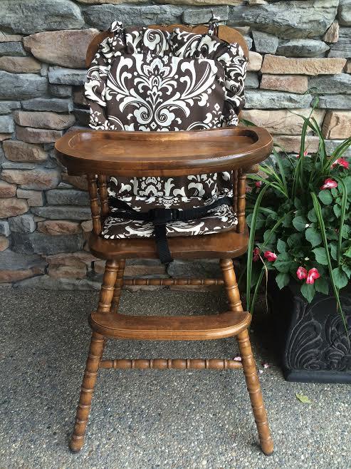 High Chair Cover. High chair pad. highchair cover. high chair