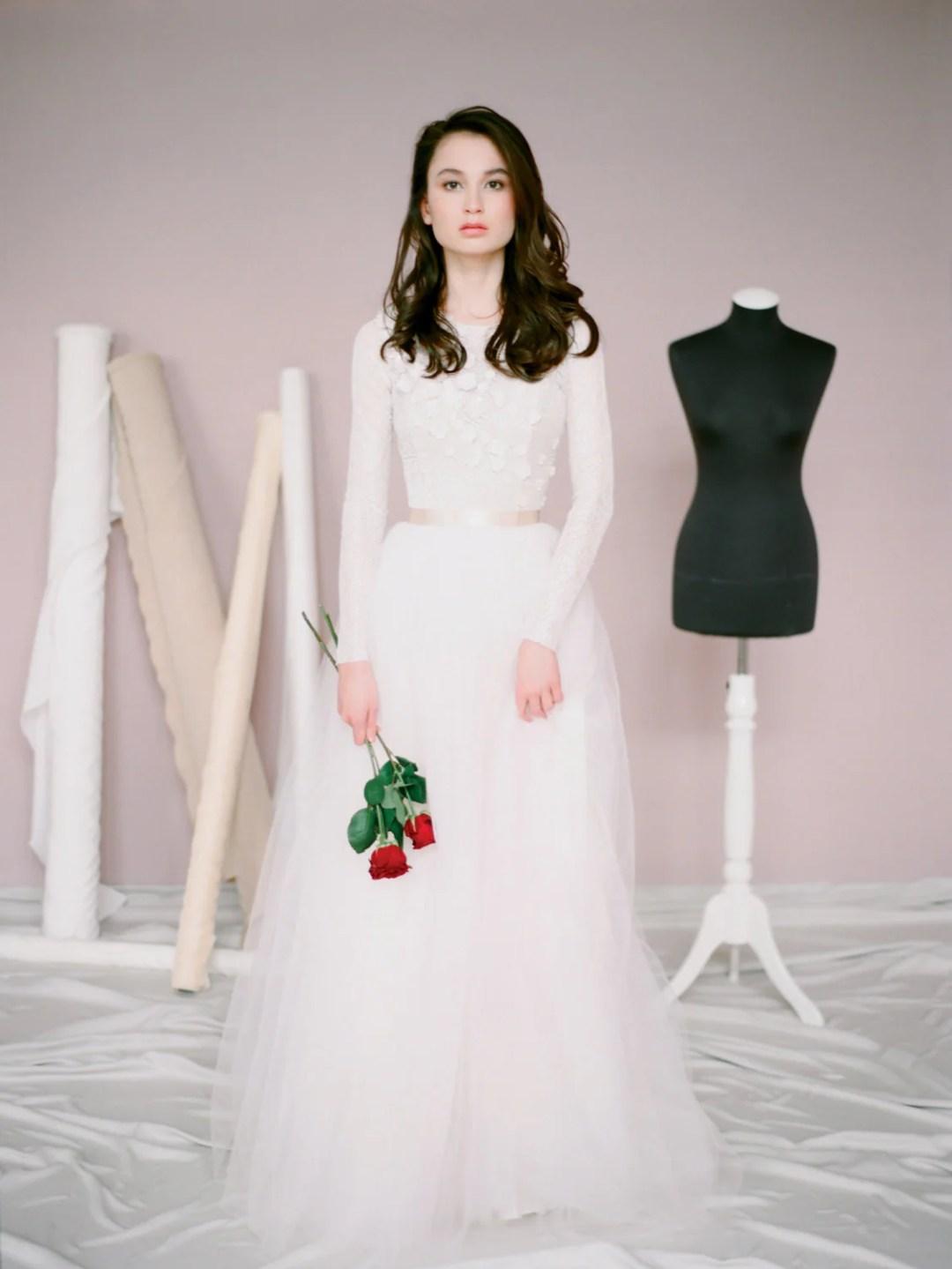 25 Modest Wedding Dresses with Long Sleeves - Long Sleeve Wedding Dress