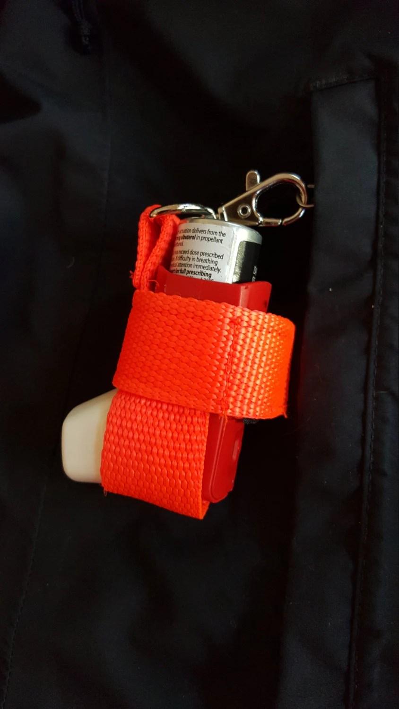 Inhaler Case Asthma Inhaler Holder Keychain Kids Jogging