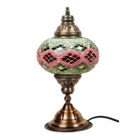 Turkish Handmade Mosaic Table Lamp Mosaic Ottoman Lamp by ...