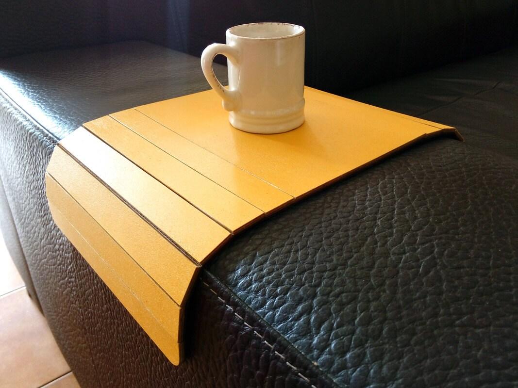 sofa arm tray wood corner karlstad laser cut tablecouch wrapcouch tablesofa