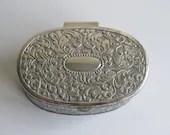 Vintage jewellery box, tr...