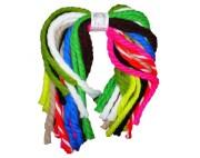 yarn hair ties vintage 70s