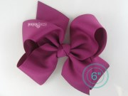 extra large hair bow magenta