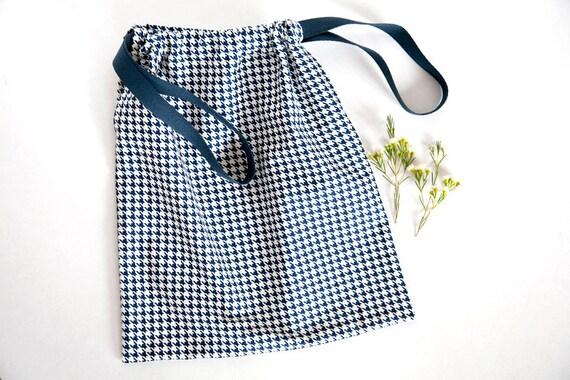 Drawstring Cotton Pouch Laundry Bag Travel Organizer