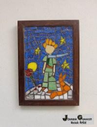 Mosaic Wall Art Little Prince Wall hanging Home decor