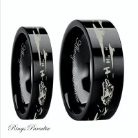 Star Wars Couples Wedding Bands Star Wars Wedding by ...