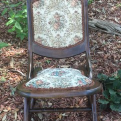 Old Fold Up Rocking Chair Cowhide Chairs Modern Antique Rocker Folding Lawn Porch