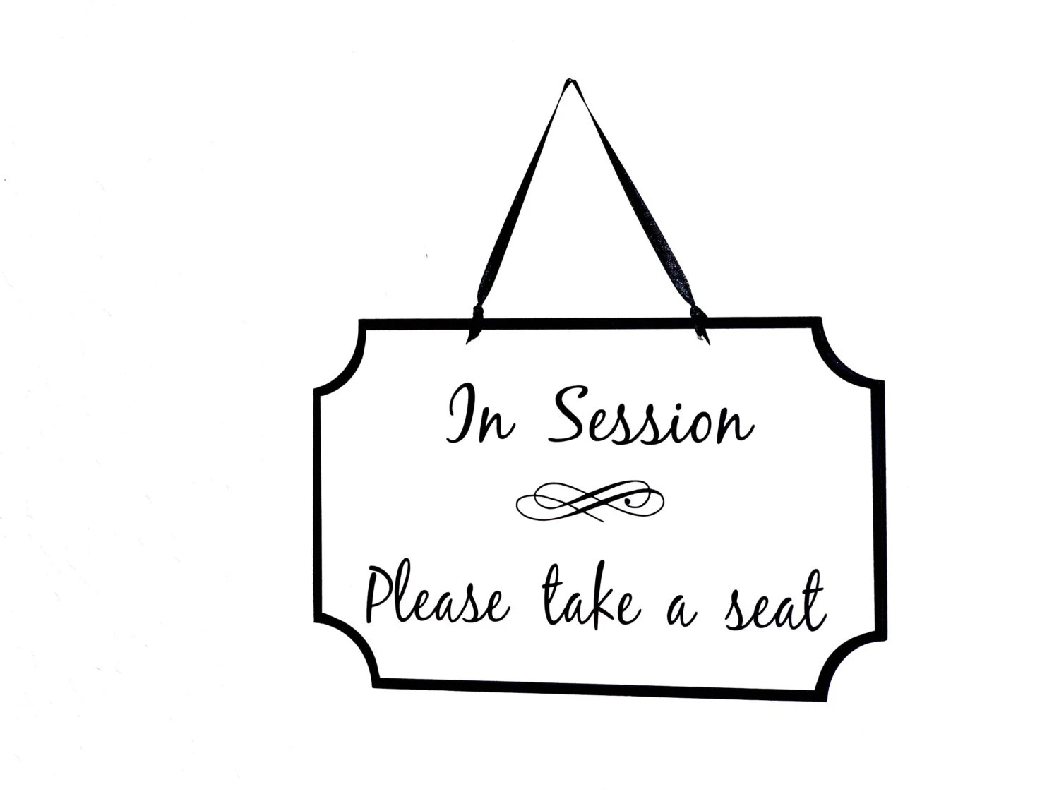 Wooden Sign Business Plaque Therapist Workplace Counselor