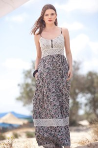 Chlo Maxi Summer Dress Floral Bohemian Maxi Dress Rustic