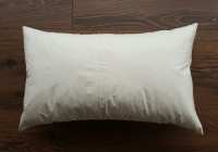 Polyester Pillow Insert. Lumbar Pillow Insert. Fiber Fill