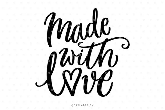 Download Made with love Love svg Nursery svg file Baby svg
