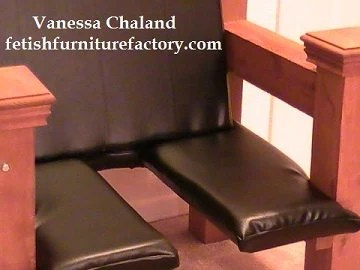 Mature BDSM Queening Chair Queening Stool Queening Throne