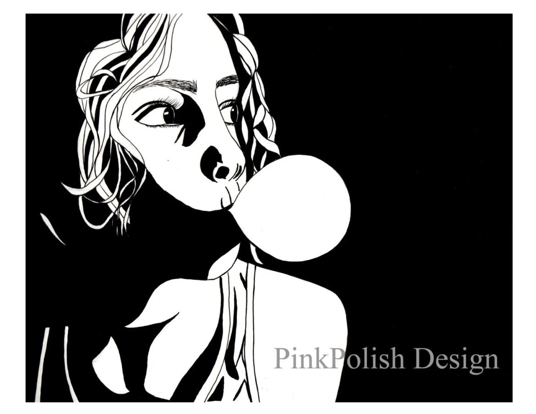 Bubblegum - Original Ink ...