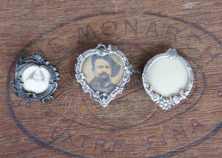Three Antique French Pict...