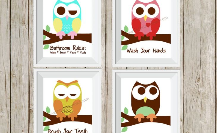 il fullxfull widescreen bathroom wall art for kids stickers androids hd owl decor kids kidus rules