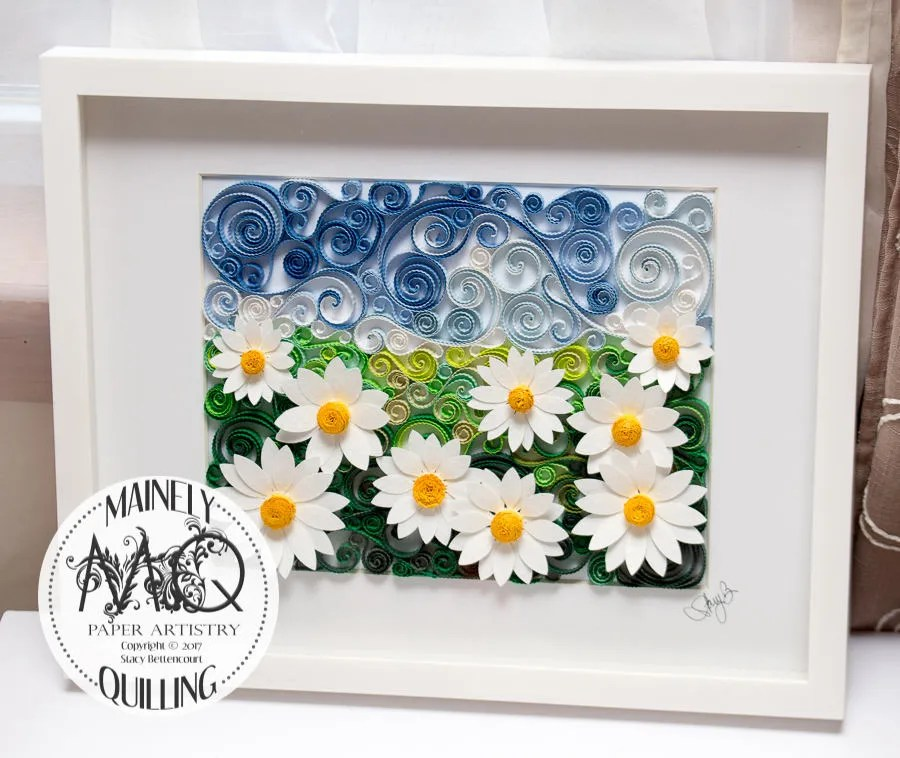 Field of Daisies Quilled ...