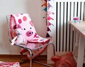 Crochet Pig Pillow, pig c...