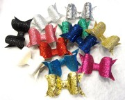 items similar glitter hair bows