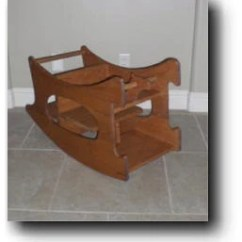 Amish 3 In 1 High Chair Plans Chairman En Espanol / The Baby-sitter Woodworking