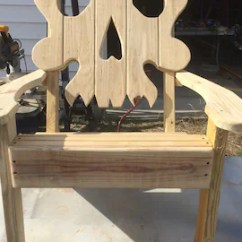 Skull Adirondack Chair Plans Surf Gear Beach Chairs Wine Barrel