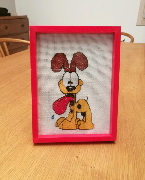 Cross Stitch Handmade In Italy Decoration