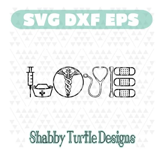 Download Nurse Love SVG DXF EPS