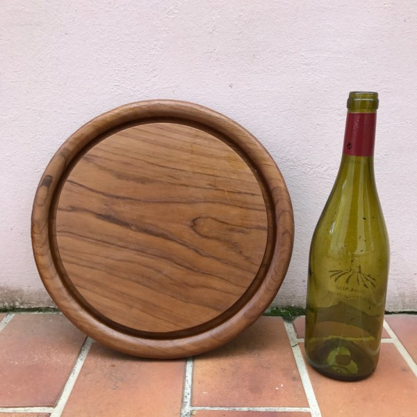 Vintage French Wood Cutting Board