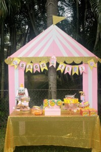 Circus Canopy Decoration & Outdoor Carnival Decorating Kit ...