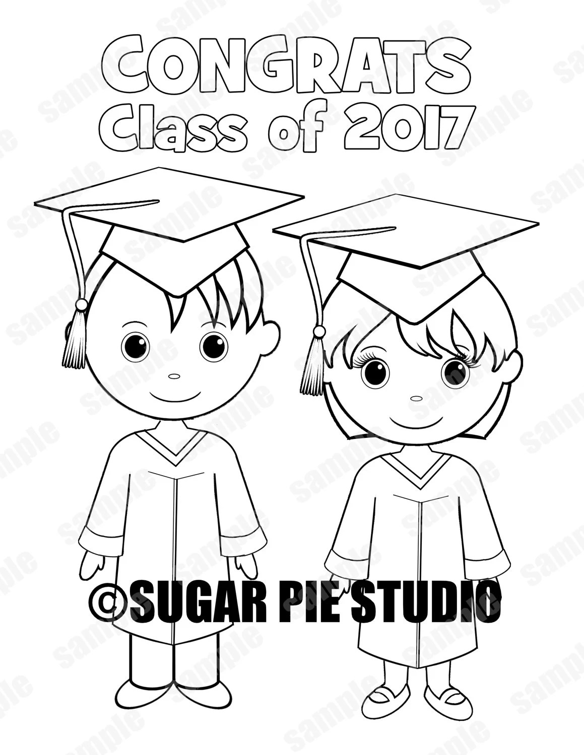 INSTANT DOWNLOAD Printable PRE-K Kindergarten Graduation favor