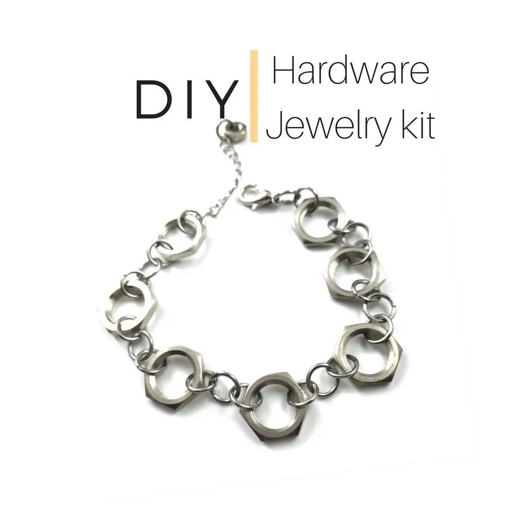 Handcrafted Recycled Upcycled Hardware Jewelry by